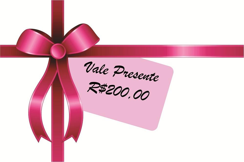 Vale Presente R$200,00 1